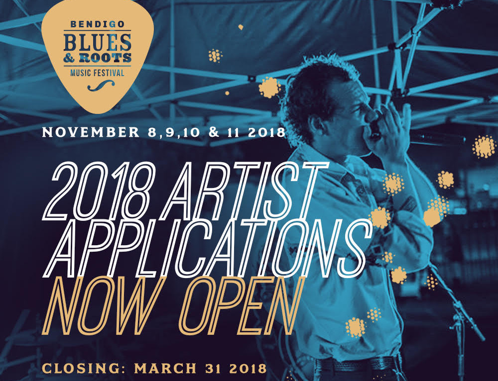 2018 Artist & Venue Applications Open