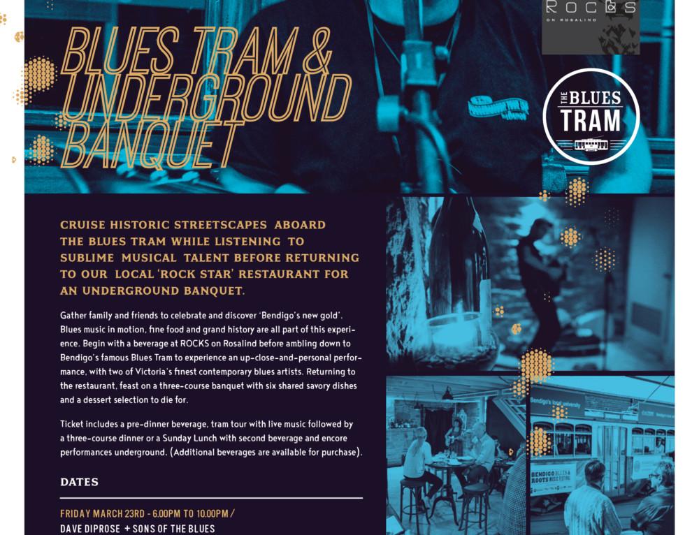 Blues Tram & Underground Banquet