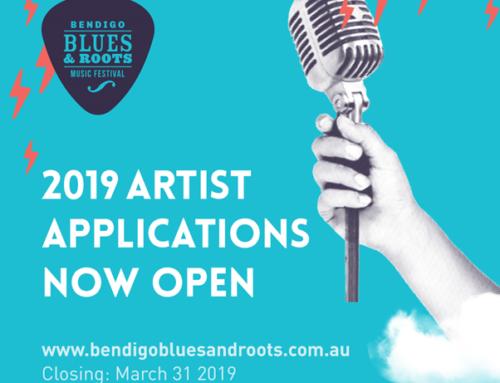 2019 Artist Applications Now Open!